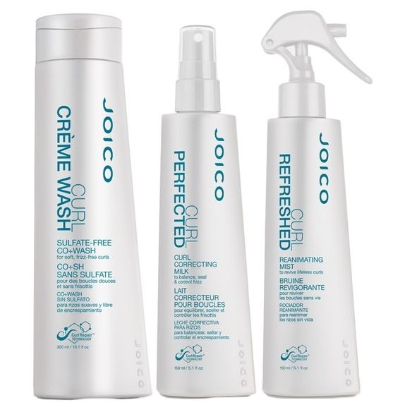 Joico-Curl-Kit-Creme-Wash--300ml--Milk-Spray--150ml--e-Refreshed-Leave-in--150ml-
