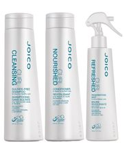 Joico-Curl-Kit-Shampoo--300ml--Condicionador--300ml--e-Refreshed-Leave-in--150ml-