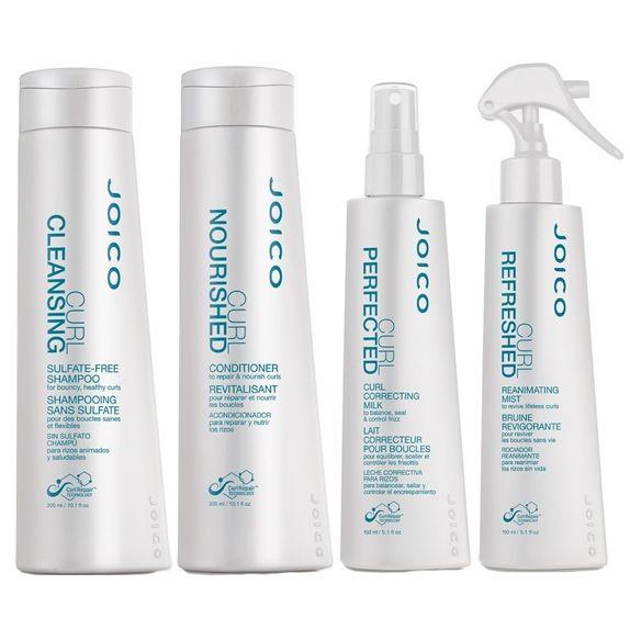 Joico-Curl-Kit-Shampoo--300ml--Condicionador--300ml--Milk-Spray--150ml--e-Refreshed-Leave-in--150ml-