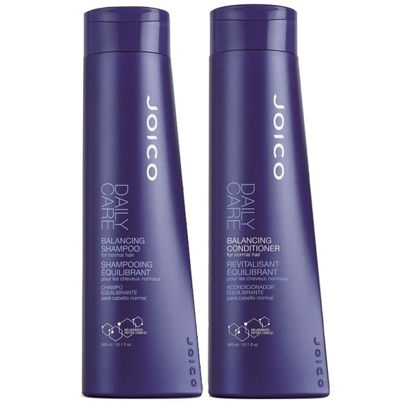 Joico-Daily-Care-Duo-Kit-Balancing-Shampoo--300ml--e-Balancing-Conditioner--300ml--for-Normal-Hair