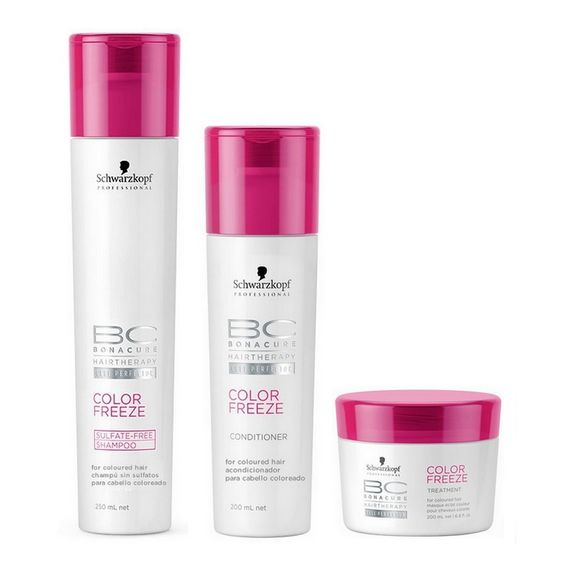 Schwarzkopf-Bc-Bonacure-Color-Freeze-Kit-Sulfate-Free-Shampoo--250ml--Condicionador--200ml--e-Tratamento--200ml-