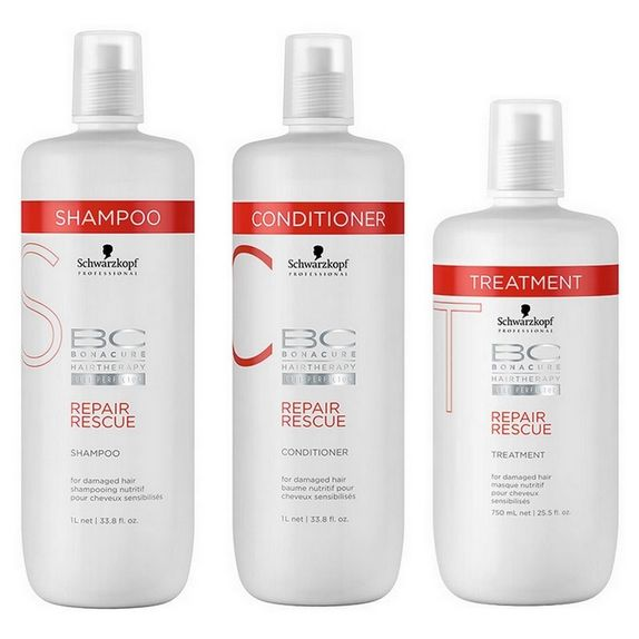 Schwarzkopf-Bc-Bonacure-Repair-Rescue-Kit-Shampoo--1000ml--Condicionador--1000ml--e-Tratamento--750ml-