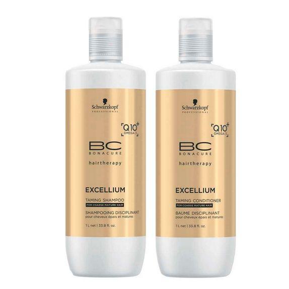 Schwarzkopf-Bonacure-Excellium-Taming-Kit-Shampoo--1000ml--e-Condicionador--1000ml-