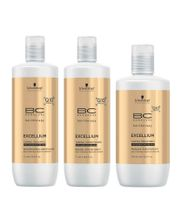Schwarzkopf-Bonacure-Excellium-Taming-Kit-Shampoo--1000ml--Condicionador--1000ml--e-Mascara--750ml-