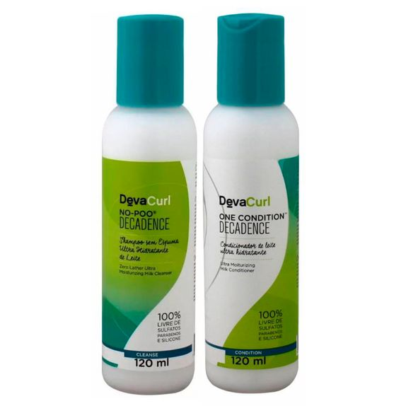 Deva-Curl-Decadence-Duo-Kit-Shampoo-No-Poo--120ml--e-Condicionador-One--120ml-