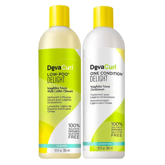 Deva-Curl-Delight-Duo-Kit-Shampoo-Low-Poo--355ml--e-Condicionador-One--355ml-