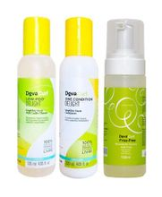 Deva-Curl-Delight-Kit-Shampoo-Low-Poo--120ml--e-Condicionador-One--120ml--e-Volumizing-Foam--150ml-