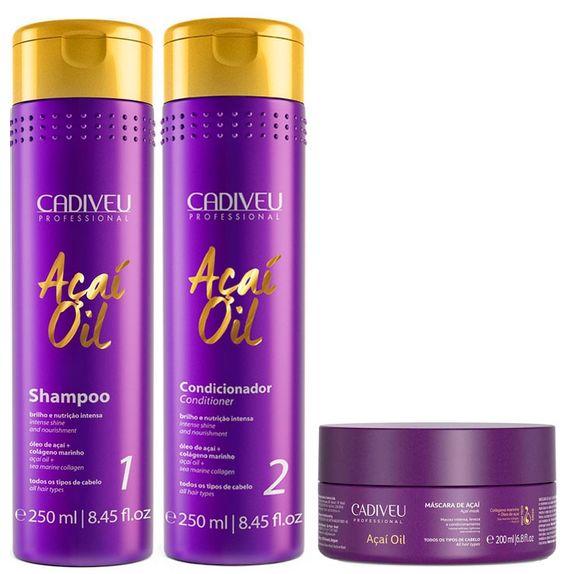 Cadiveu-Acai-Oil-Kit-Shampoo-Restaurador--250ml--Condicionador-Restaurador--250ml--e-Mascara-de-Acai--200ml-