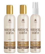 Avlon-KeraCare-Natural-Curls-CurlPoo--240ml--Smooth-Curly--240ml--e-Vinegar--240ml-