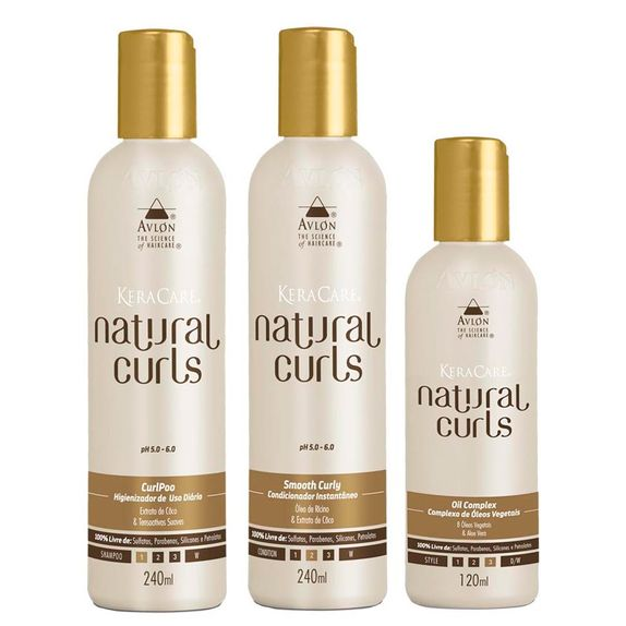 Avlon-KeraCare-Natural-Curls-CurlPoo--240ml--Smooth-Curly--240ml--e-Oil--120ml-