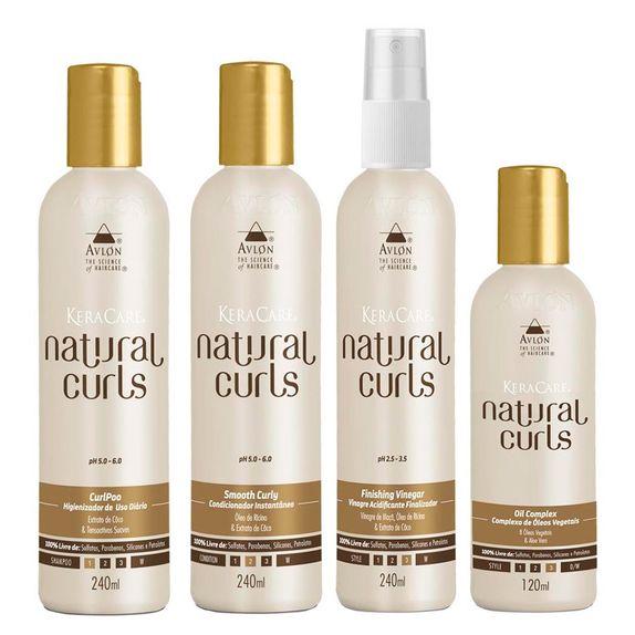 Avlon-KeraCare-Natural-Curls-CurlPoo--240ml--Smooth-Curly--240ml--Vinegar--240ml--e-Oil--120ml-