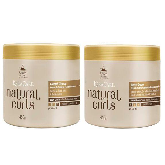 Avlon-KeraCare-Natural-Curls-CoWash--450ml--e-Butter-Cream--450ml-