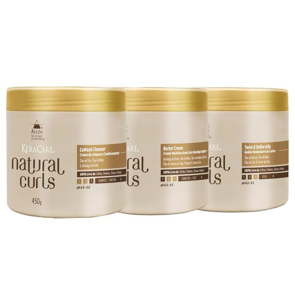 Avlon-KeraCare-Natural-Curls-CoWash--450ml--Butter-Cream--450ml--e-Twist-Jelly--450ml-