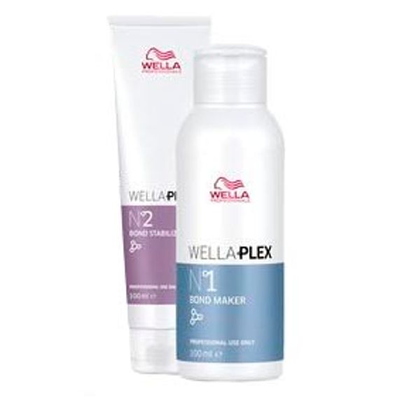 Wella-Plex-Kit-No1-Bond-Maker--100ml--e-No2-Bond-Stabilizer--100ml-