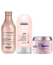 LOREAL-SHINE-BLONDE-SHAMPOO--300ML--CONDICIONADOR--200ML--E-MASCARA--200ML-