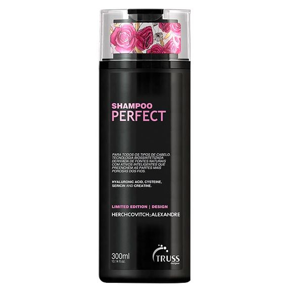 TRUSS-ALEXANDRE-HERCHCOVITCH-SHAMPOO-PERFECT-300ML