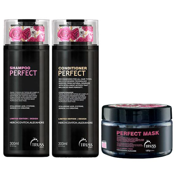 TRUSS-ALEXANDRE-HERCHCOVITCH-PERFECT-SHAMPOO--300ML--CONDICIONADOR--300ML--E-MASCARA--180ML-