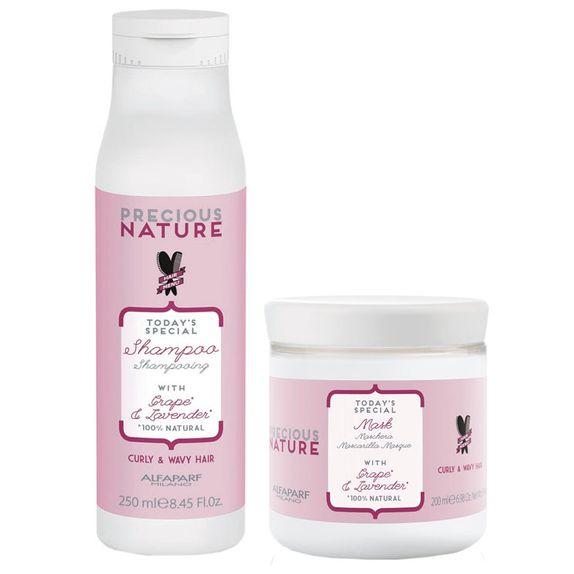 Alfaparf-Precious-Nature-Kit-Cabelos-Ondulados-e-Cacheados-Shampoo--250ml--e-Mascara--200ml-