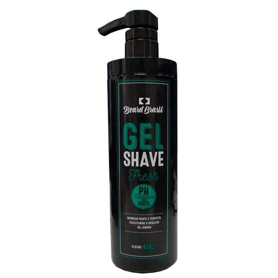Beard-Brasil-Novo-Gel-Shave-Fresh-450-g