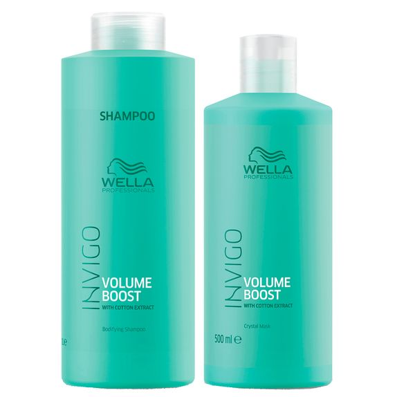 WELLA-INVIGO-VOLUME-BOOST-SHAMPOO--1000ML--E-MASCARA--500ML-