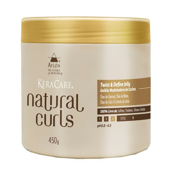 Avlon-KeraCare-Natural-Curls-Twist-and-Define-Jelly-Geleia-Modeladora-de-Cachos-450g