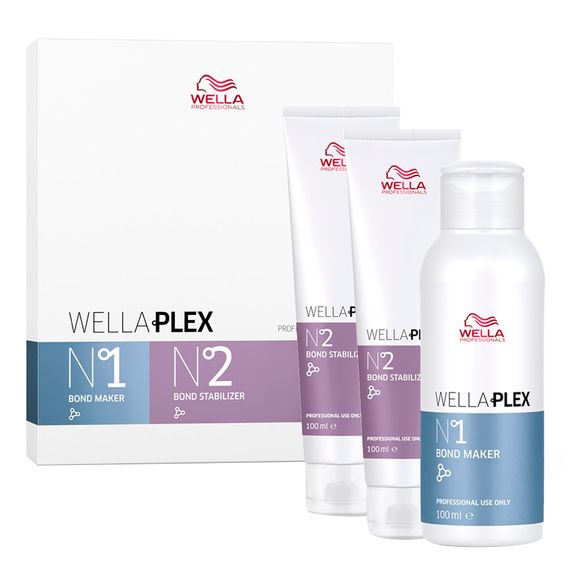 Wella-Plex-Kit-Bond-Maker-Nr-1-100ml-e-Bond-Stabilizer-Nr-2-2x100ml