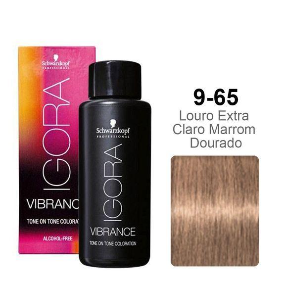 Schwarzkopf--Igora-Vibrance-9-65-Louro-Extra-Claro-Marrom-Dourado-60ml