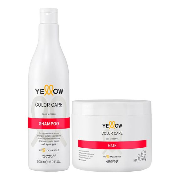Yellow-Color-Care-Kit-Shampoo--500ml--e-Mascara--500ml-