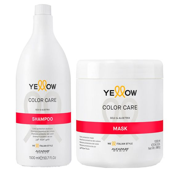 Yellow-Color-Care-Kit-Shampoo--1500ml--e-Mascara--1000ml-