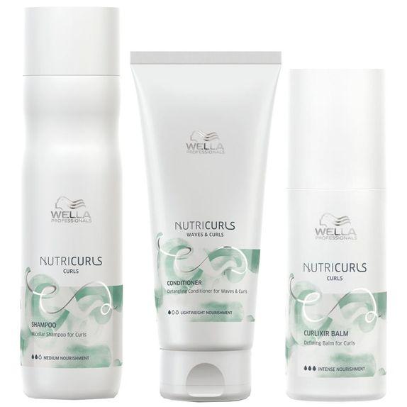 Wella-NutriCurls-Kit-Shampoo--250ml--Condicionador--200ml--e-Creme-sem-Enxague--150ml-