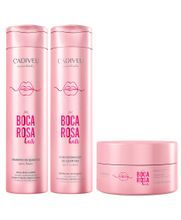 Cadiveu-Boca-Rosa-Hair-Kit-Quartzon-Shampoo--250ml--Condicionador--250ml--e-Mascara--200ml-
