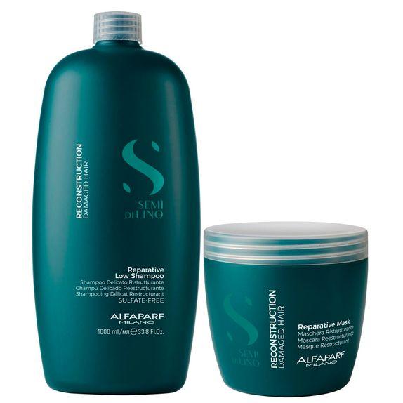 Alfaparf-Semi-Di-Lino-Kit-Reconstruction-Shampoo--1000ml--e-Mascara--500ml-