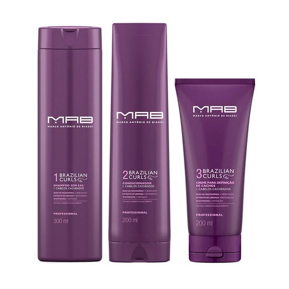 MAB-Brazilian-Curls-Shampoo--300ml--Condicionador--200ml--e-Ativador-de-Cachos--200ml-